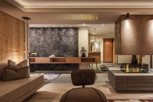 Wohnzimmer Gradiva Apartments