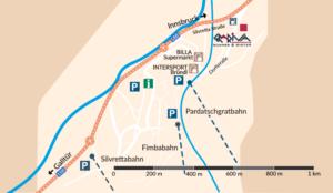 Lageplan Ischgl