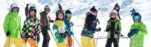 Kinder Ski Gruppe