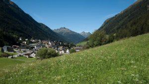 Landschaft in Ischgl