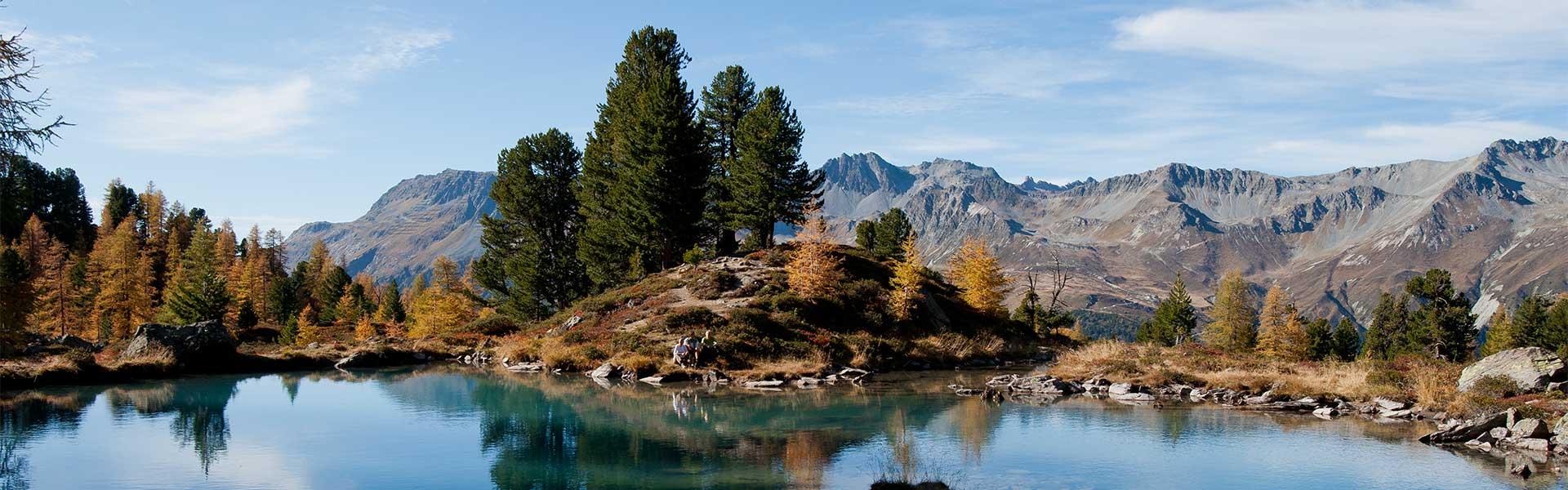 Landschaft Ischgl