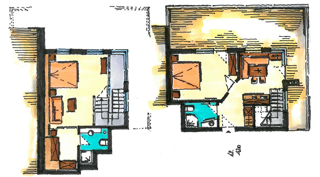 Grundriss Gradiva Apartments