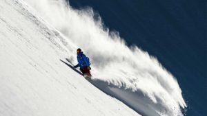 Skifahrer in Ischgl
