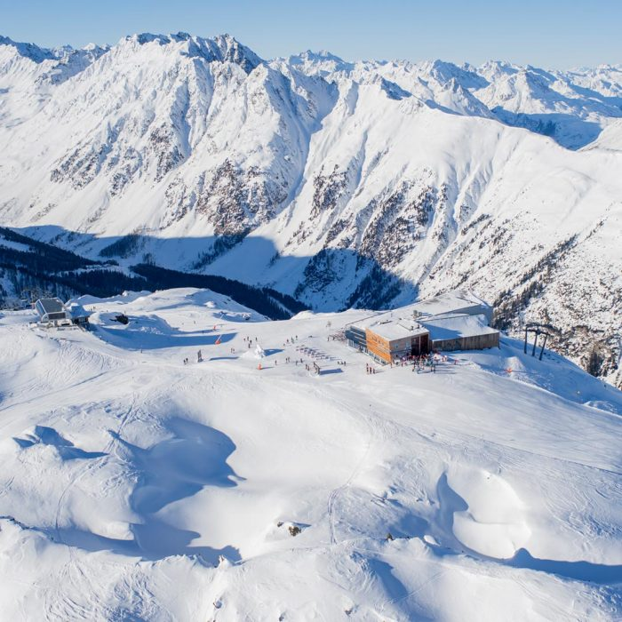 Winter in Ischgl Tyrol